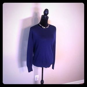 Navy Blue Sweater by Ann Taylor